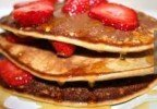 Ashley's Primal Eats: Coconut Strawberry Pancakes