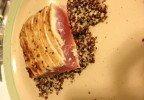 Ashley's Primal Eats: Sesame Ahi Tuna & Coconut Quinoa