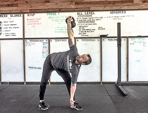 How to Do a Kettlebell Windmill