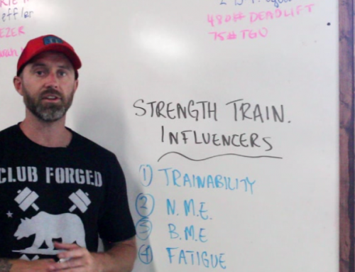 Coach's Lab 10: Strength 202