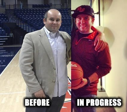 Jon Kropp has lost 21 pounds since joining Performance360, and started if by losing 6 pounds last October Challenge.