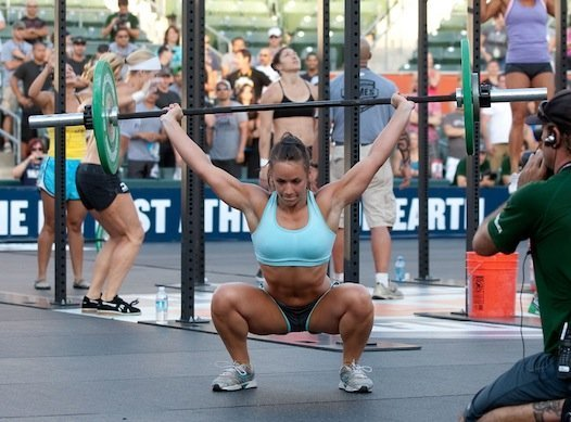 crossfit+overhead+squat