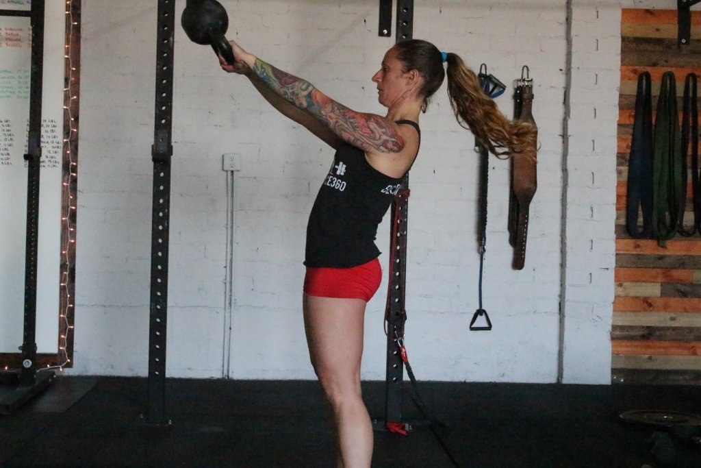 Lumbar Hyperextension in the Russian Kettlebell Swing