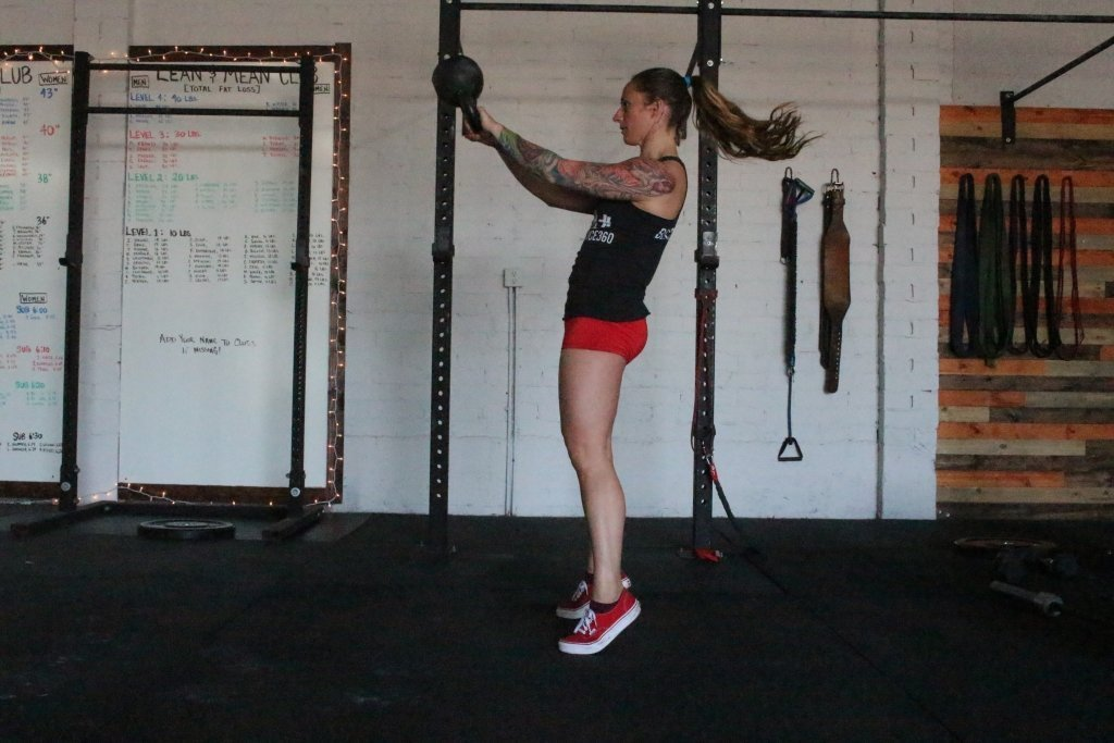 Heels Leaving the Ground in the Kettlebell Swing