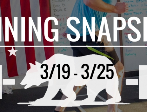 This Week's Training 3/19 – 3/25