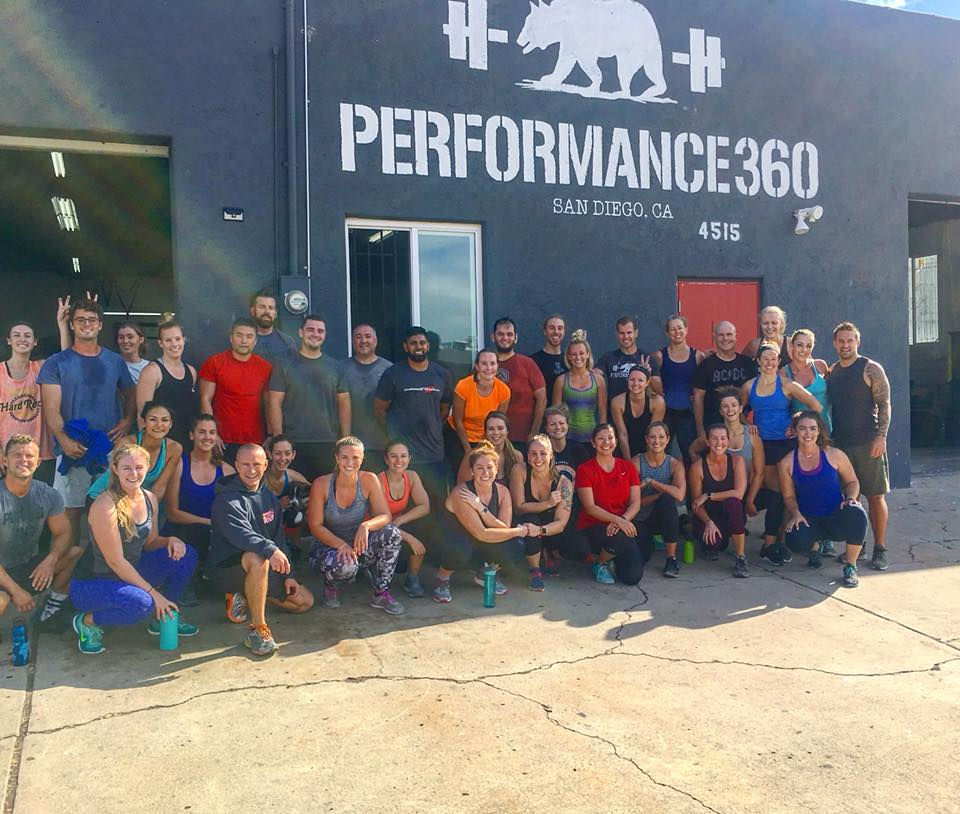 Sunday Community Workout Performance360