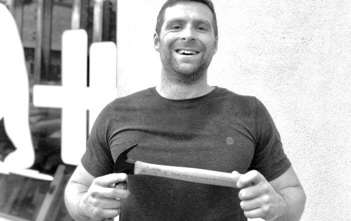 Tyler DeLorme Awarded the P360 Hammer