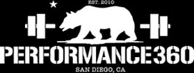 Performance360 | San Diego's Best Gym | Pacific Beach | Ocean Beach | Bay Park | 92109 | 92107 | 92110 Logo